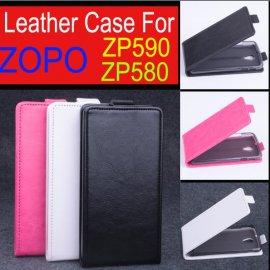 Pouzdro pro ZOPO ZP580 ZP590, flip, magnet, PU kůže