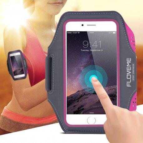 Pouzdro Floveme pro iPhone 7 6S / Plus 5s SE Samsung Galaxy S5 S6/ S6Edge/ S7, voděodolné, univerzální