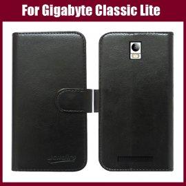 Pouzdro pro Gigabyte GSmart Classic Lite, flip, stojánek, PU kůže