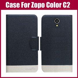 Pouzdro pro Zopo Color C2, flip, stojánek, peněženka, PU kůže