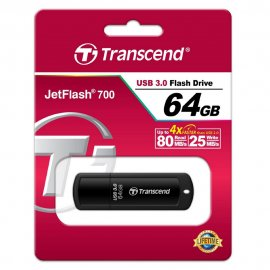 Flash Disk Transcend JF700 64GB 32GB 16GB USB 3.0 Flashdisk