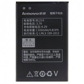 Baterie pro Lenovo A300T A269I A208t A218t A269 A305E A316 A360E A316I, BL214, 1300mAh, Original