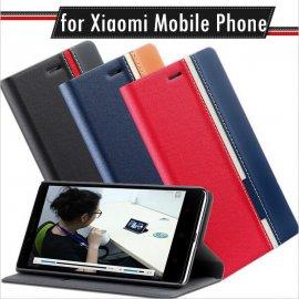 Pouzdro pro Xiaomi Max Mi Max Redmi 4A 4 Pro 4 Prime Redmi Note4, flip, stojánek, peněženka, PU kůže