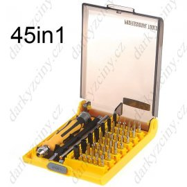 Screwdriver set, 45 in 1, professional for mobile phone repair etc.