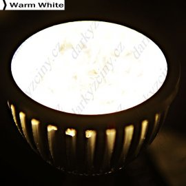 LED bodovka 12V 4W MR16 4-LED 320-360LM (2 varianty)