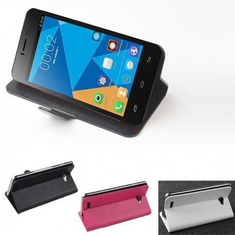 Pouzdro kožené, magnetické, flip, stojánek pro DOOGEE DG800 (více barev)