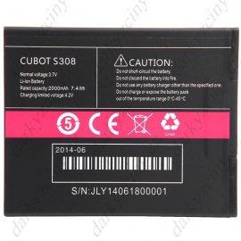 Originální baterie CUBOT S308 3.7V 2000mAh