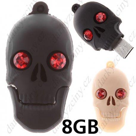 Flash Disk 8GB Skull Head Style USB 2.0 Samsung Chip