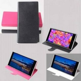 PU leather case for iNew V3 iNew V3 Plus, flip, stand