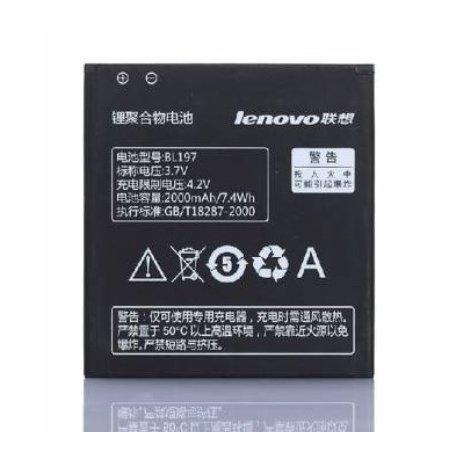Originální baterie pro Lenovo A800 A798T S720 S899T A820 3.7V 2000mAh Li-ion