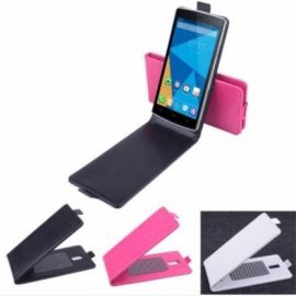Case for DOOGEE DG580, flip, magnet, PU leather