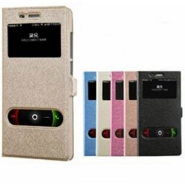 Case for Xiaomi Mi4 Xiaomi M4, View Window, flip, PU leather