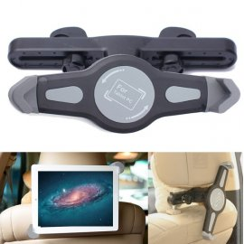 "Car Holder for Tablets 7 ""-10.1"" Universal / Adjustable / Headrest for GPS, MP5, iPad, Samsung, 20-33cm"