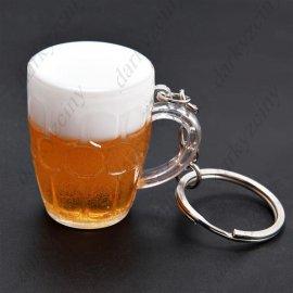 Keychain BEER, beer mug 4x3cm / FREE Shipping!