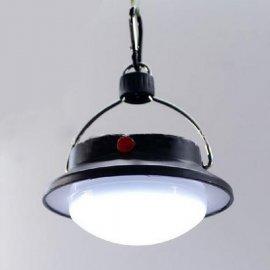 Lucerna / lampa kempingová, 60 LED, háček pro zavěšení, karabina