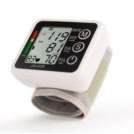 Tlakoměr digitální, s manžetou na zápěstí, LCD, přesný německý čip