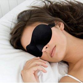 Noční maska na oči, velmi jemná a příjemná