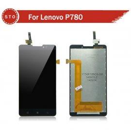 Náhradní sklo s dotykovou vrstvou + LCD obrazovka pro Lenovo P780