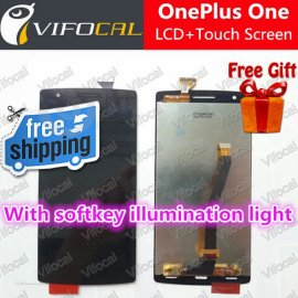 LCD screen display for Oneplus One + touch layer digitizer + frame