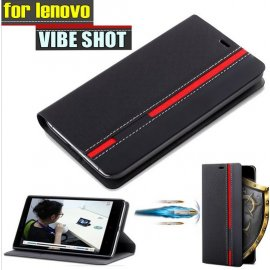 Case for LENOVO VIBE SHOT Z90, flip, stand, wallet, PU leather