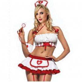 Sexy kostým zdravotní sestra, sestřička /Poštovné ZDARMA!