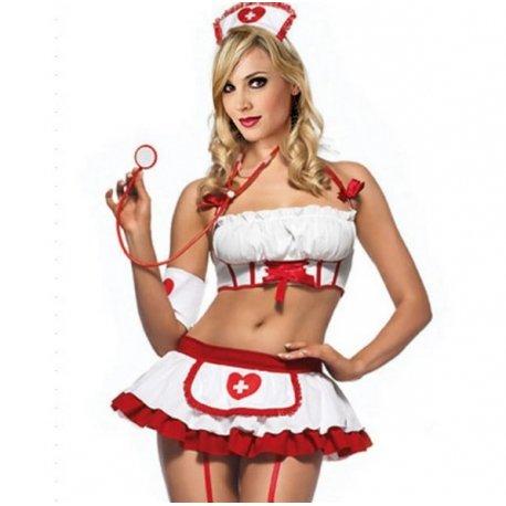 Sexy kostým zdravotní sestra, sestřička