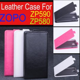 Case for ZOPO ZP580 ZP590, flip, magnet, PU leather