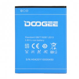 Battery for DOOGEE Valencia 2 Y100 PRO, 2200mAh, original