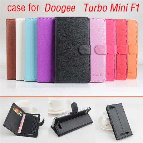 Pouzdro pro DOOGEE TURBO Mini F1, flip, stojánek, PU kůže