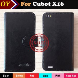 Case for Cubot X16 Cubot X17, flip, magnet, wallet, PU leather