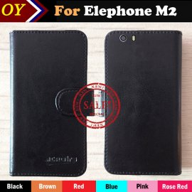 Case for Elephone M2, flip, magnet, wallet, PU leather