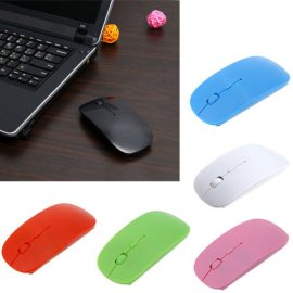 Wireless mouse 2.4GHz, optical, ultrathin, USB 2.0 (2xAA)