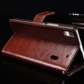 Pouzdro pro Lenovo K3 Note K50 T5, flip, stojánek, peněženka, PU kůže