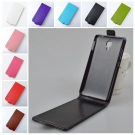 Case for Xiaomi Mi4, flip, magnet, PU leather