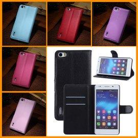 Puzdro pre Huawei Honor 6, flip, magnet, peňaženka, PU kože