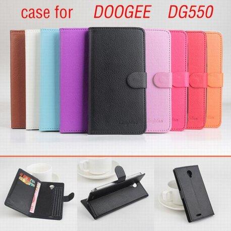 Pouzdro pro DOOGEE DG550, flip, stojánek, PU kůže, magnet