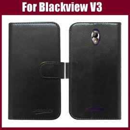 Case for Blackview V3, flip, magnet, wallet, PU leather