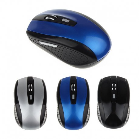 Myš Briloom bezdrátová 2.4GHz, optická, 3 tl., USB 2.0, PnP (1xAA)