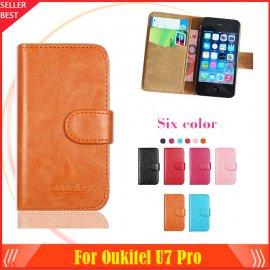 Puzdro pre Oukitel U7 Pro, flip, magnet, peňaženka, PU kože