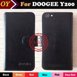 Pouzdro pro DOOGEE Y200, flip, magnet, peněženka, PU kůže