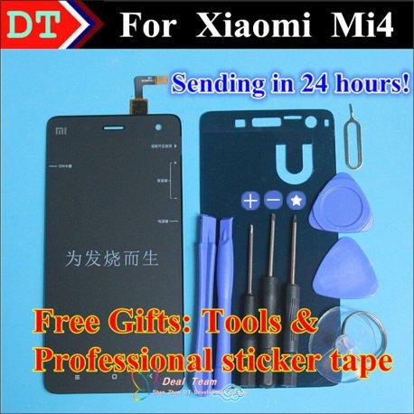 Náhradní dotyková obrazovka digitizer + LCD pro XIAOMI MI4 m4 + nástroje