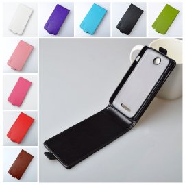 Case for Lenovo A760, flip, magnet, PU leather