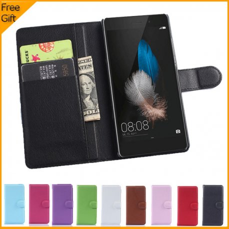 Pouzdro pro Huawei P8 Lite, flip, magnet, stojánek, peněženka, PU kůže
