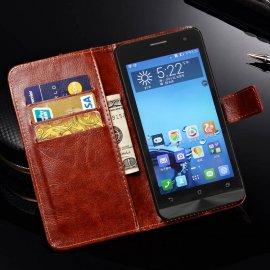 Puzdro pre ASUS Zenfone 5, flip, stojan, peňaženka, PU kože