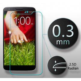 Tvrdené sklo pre LG G2 D802, Tempered glass 9H 0.3mm, Anti explosion