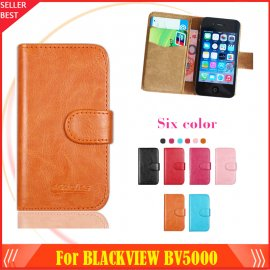Case for Iget Blackview BV5000, flip, wallet, PU leather