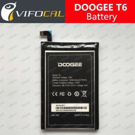 Battery for DOOGEE T6, 6250mAh, Original