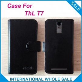 Case for ThL T7, flip, magnet, wallet, PU leather