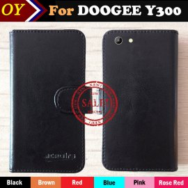 Case for DOOGEE Y300, flip, stand, wallet, PU leather