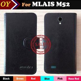 Pouzdro pro Mlais M52 Red Note, flip, peněženka, PU kůže